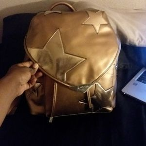 Kylie& Kendall rose gold backpack